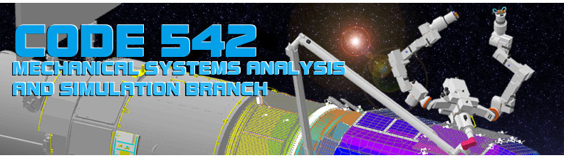 Code 542 Mechanical Systems Analysis and Simulation Branch